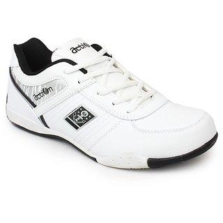Action Men'S Black Sport Shoes