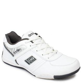Action Men'S Grey Sport Shoes