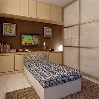 bellz single cotton 35*72*4 mattress