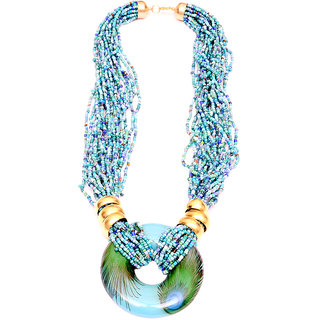 New Creation Blue Necklace