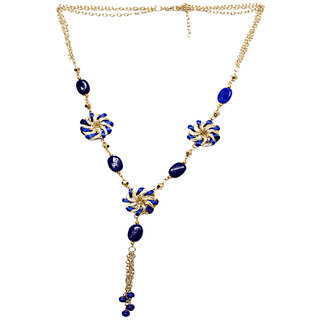 New Creation Golden Blue Necklace