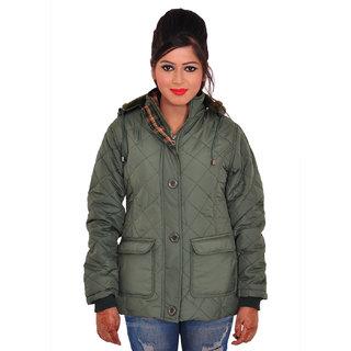 Be-Beu Full Sleeve Solid Womens Jacket