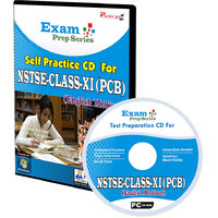 Exam Prep CD For  NSTSE Class 11 (PCB)