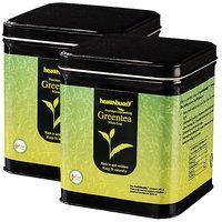 Healthbuddy Premium Darjeeling Green Tea Whole Leaf 2 packs of 100 gm each