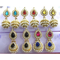 Combo Offer of Multi Colour Jhumka Earrings