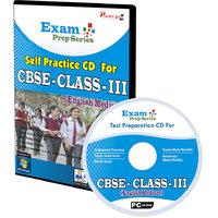 Exam Prep CD For  Class 3 - Maths, EVS  English Combo