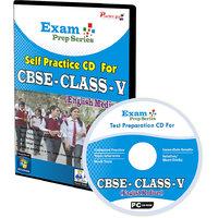 Exam Prep CD For  Class 5 - Maths, EVS  English Combo