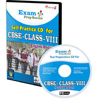 Exam Prep CD For  Class 8 - Maths, Science  English Combo
