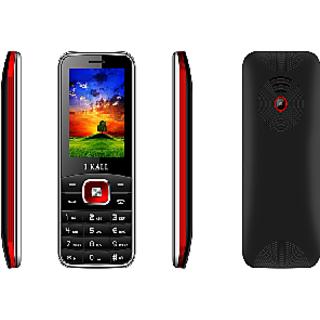 IKall K41 Multimedia Mobile With Manufacturer Warranty (Black-Red)