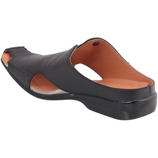 Action- Dotcom Men'S Brown Slip On Sandals
