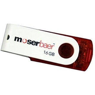 Moserbaer Swivel 16 GB Pen Drive @ Rs. 378 At Shopclues