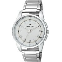 MARCO White Analog Watch For Men - 98265015