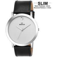MARCO White Analog Watch For Men