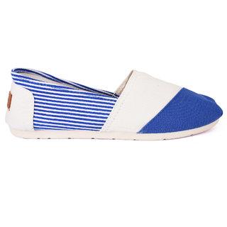 Action Women'S Blue Slip On Casual Shoe