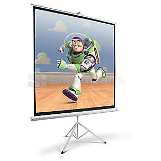 Delta O Series Tripod Projector Screen Size 8 Feet X 6 Feet A++++