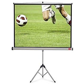 Alfa D Series Tripod Projector Screen Size 6 Feet X 4 Feet A++++