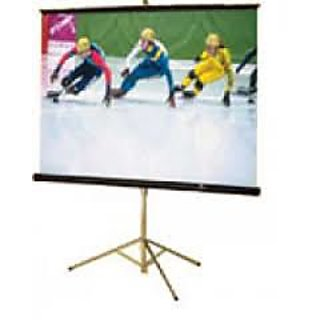 Alfa L Series Tripod Projector Screen Size 6 Feet X 4 Feet A++++