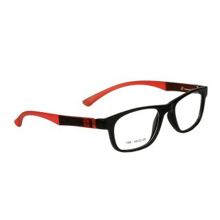 Pears Full Rim Black-Red Sheet Frame
