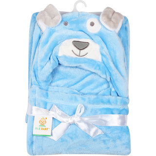 Ole Baby Soft and Fluffy Hooded Mink Blanket Assorted Color and Character