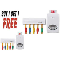 Buy Toothpaste Dispenser Holder  Get 1 Free - B1G1TTH