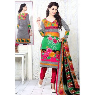 Takshila Creations Women'S Cotton Unstitched Salwar Suits Dress Material