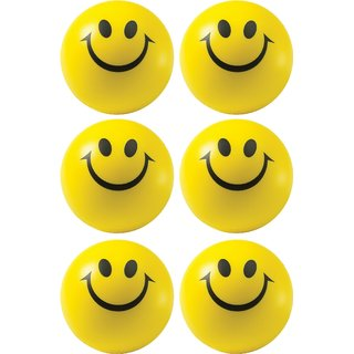 Smiley Balls (Pack of 6)