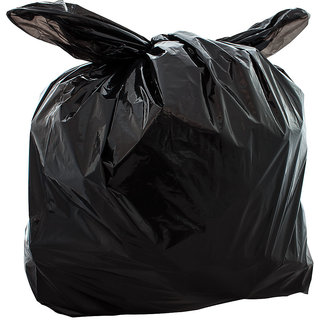 BUY 1 GET 1 FREE OFFER - 50pcs Disposable Garbage Trash Waste Dustbin Bags for (20X26)