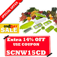 Multi Chopper Vegetable Cutter Fruit Slicer Peeler Nicer Dicer Plus Chopper