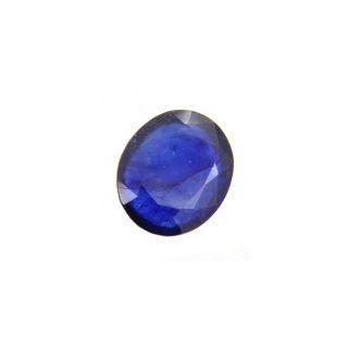 11.25 ratti P.p.gems  Blue Sapphire (pukhraj) Certified Gemstone