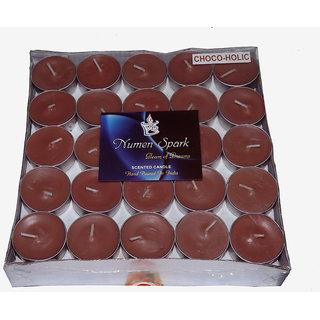 CHOCOHOLIC TEA-LIGHT CANDLE(Pack of 50)