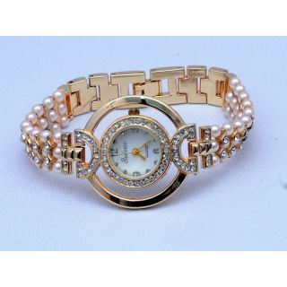 Redeve Gold Watch for Girl's