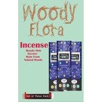 Woody Flora Set Of Three