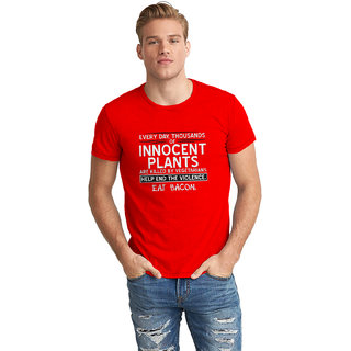 Dreambolic Innocent Plants Half Sleeve T-Shirt