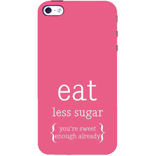 ifasho Motivational Quote sweet Back Case Cover for Apple iPhone 5