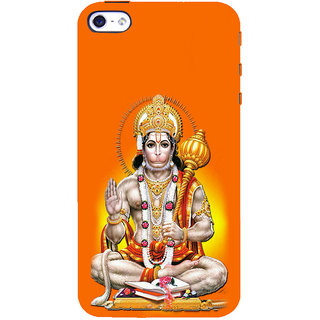 ifasho Lord Hanuman Back Case Cover for Apple iPhone 5