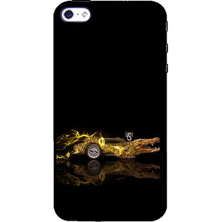 ifasho crocodile animated car Back Case Cover for Apple iPhone 5