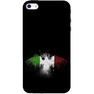 ifasho Tri Colour bird Back Case Cover for Apple iPhone 5