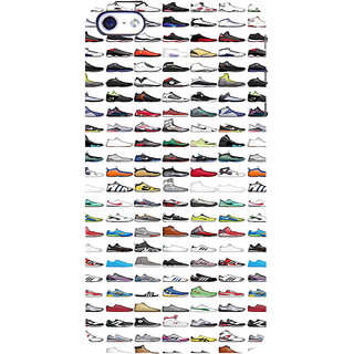 ifasho Animated Design  Many shoes Back Case Cover for Apple iPhone 5