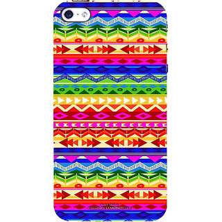 ifasho multi color Triangular and circle Pattern Back Case Cover for Apple iPhone 5