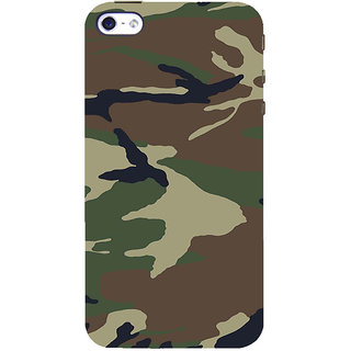 ifasho Army dress pattern Back Case Cover for Apple iPhone 5