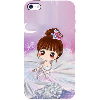 ifasho Princess Girl Back Case Cover for Apple iPhone 5