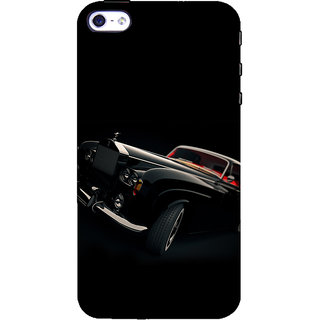 ifasho Vintage Car Back Case Cover for Apple iPhone 5