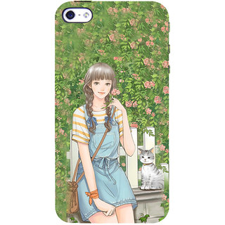 ifasho Girl in park Back Case Cover for Apple iPhone 5