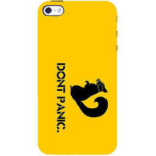 ifasho Dont panic quotes Back Case Cover for Apple iPhone 5
