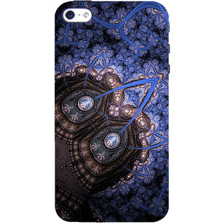 ifasho Animated Pattern design colorful flower in royal style Back Case Cover for Apple iPhone 5