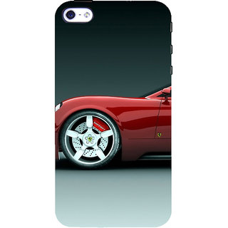 ifasho Stylish long Car Back Case Cover for Apple iPhone 5