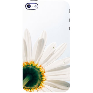 ifasho Flower Design white flower in white background Back Case Cover for Apple iPhone 5