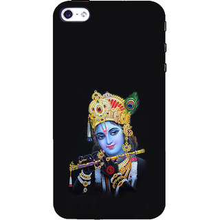 ifasho Lord Krishna with Flute Back Case Cover for Apple iPhone 5