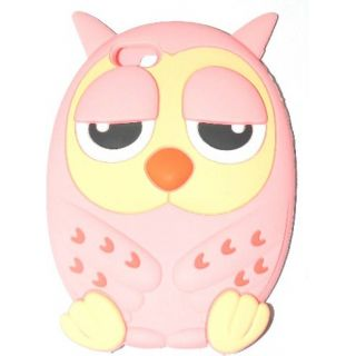 3D Cartoon Silicone Ullu Back Cover for Apple Iphone 5,5s
