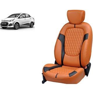 Hyundai Xcent PU Leatherite Car Seat Cover PU0026